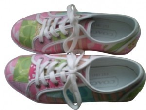 Preload https://item1.tradesy.com/images/coach-pinklight-green-walking-casual-sneakers-size-us-85-163585-0-0.jpg?width=440&height=440