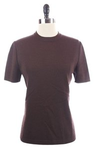 St. John Collection Santana Sleeve Top Brown