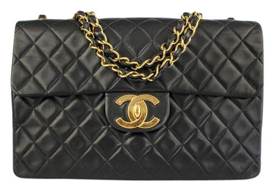 Chanel Classic Maxi Quilted Single Flap Shoulder Bag