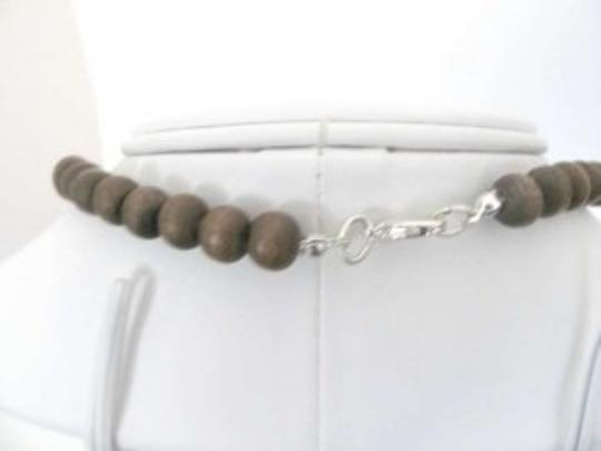 Lucky Brand Lucky Brand Wood Beaded Necklace