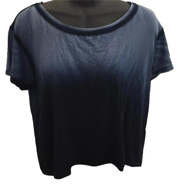 Preload https://img-static.tradesy.com/item/16360033/feel-the-piece-blue-tee-shirt-size-2-xs-0-1-650-650.jpg