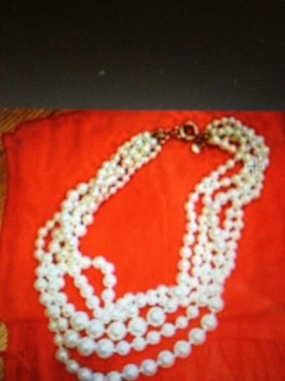 Preload https://item5.tradesy.com/images/jcrew-cream-multi-strand-pearl-necklace-163604-0-0.jpg?width=440&height=440