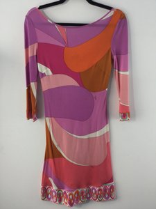 Emilio Pucci short dress Multi Pencil Luxurious on Tradesy