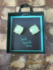 Other Green Sparkle Earrings with Giftbox