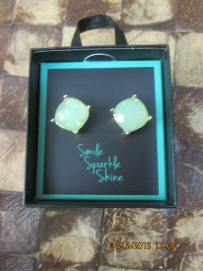 Preload https://img-static.tradesy.com/item/16360972/green-sparkle-earrings-with-giftbox-0-1-540-540.jpg