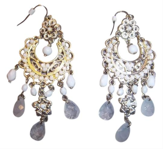 Other White/Opaque/Silver Earrings