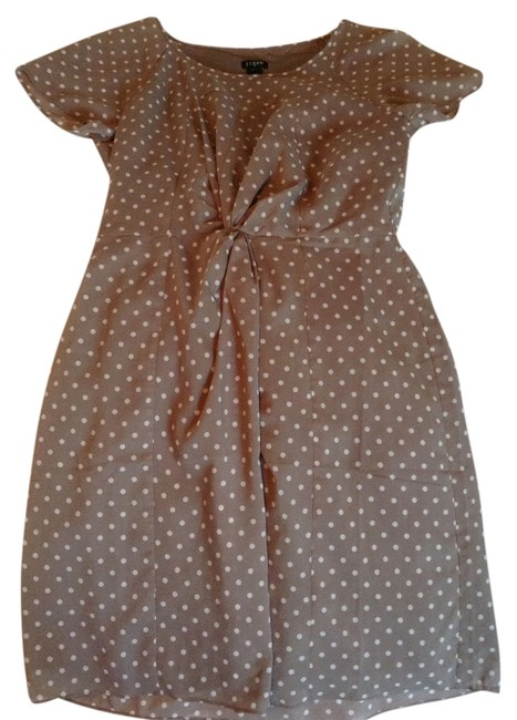Preload https://item4.tradesy.com/images/jcrew-tan-with-white-polka-dots-above-knee-short-casual-dress-size-4-s-1636133-0-0.jpg?width=400&height=650