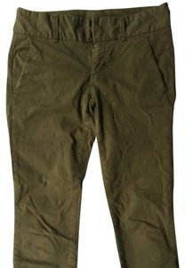 J.Crew Straight Pants Army green