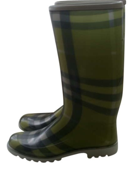 Burberry Rain Lime green Boots