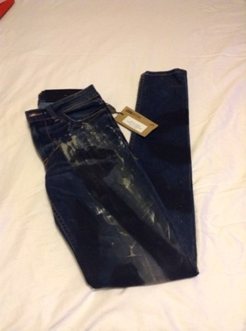 William Rast Skinny Jeans-Coated