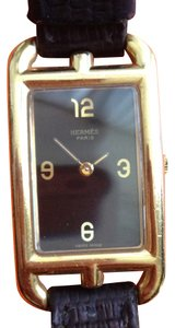 Hermès ON SALE ! HERMES NANTUCKET Gold Alloy Watch HERMES COLLECTORS PIECE