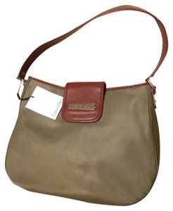 Calvin Klein Satchel in Olive And Brown