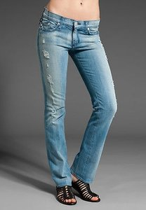 Rock & Republic Brie In Siren X Straight Leg Jeans