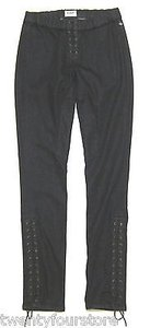 Hudson Skinny Leg Corset Tie Up Jodhpur Samples 27 Jeggings
