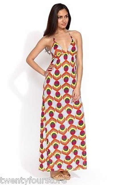 Preload https://img-static.tradesy.com/item/16364206/t-bags-triangle-halter-maxi-dress-w-braided-straps-multi-color-print-0-0-650-650.jpg