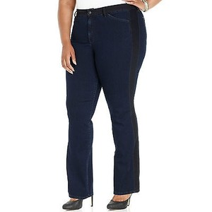 NYDJ Not Your Daughters Meryl Tuxedo Stripe Covina Straight Leg Jeans