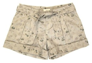Band of Outsiders Boy By Printed Pleat Belted Cuffed Shorts