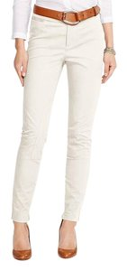 Lauren Ralph Lauren Skinny Pants Cream
