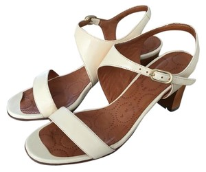 Chie Mihara Ivory Sandals