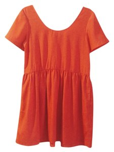 Urban Outfitters Mod Babydoll Simple Wrinkle-free Dress