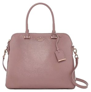 Kate Spade Leather; Guaranteed Your Money Back Satchel in Rose Water