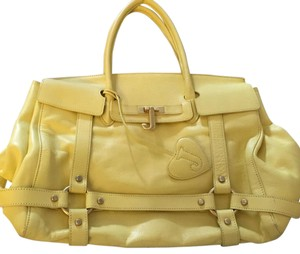 Juicy Couture Yellow Travel Bag