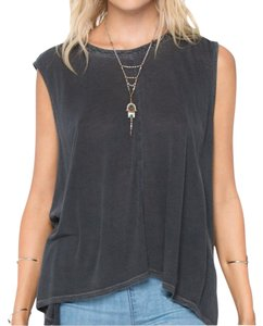 Amuse Society Top Charcoal