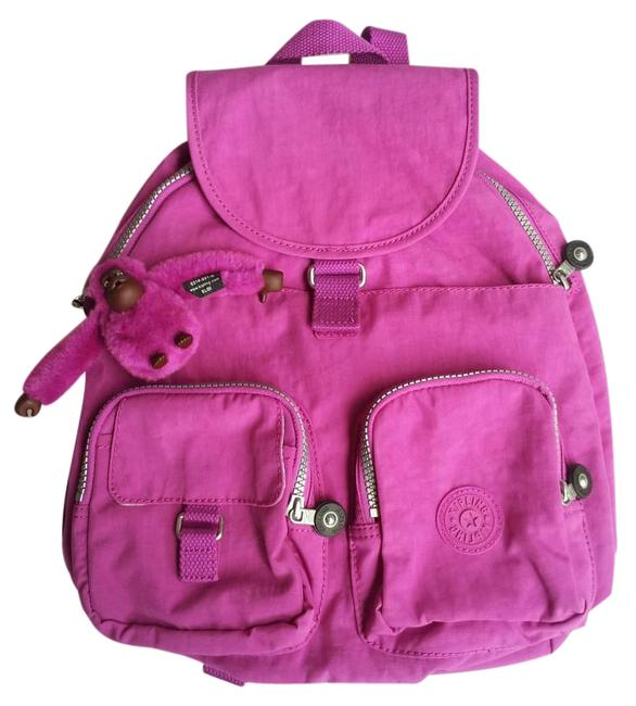 Item - Hard To Find Firefly Small Bp2393 Pink Orchid Nylon Backpack