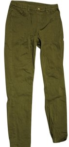 Uniqlo Skinny Pants green
