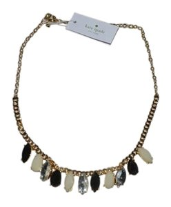 Kate Spade NWT KATE SPADE GARDENS OF PARIS NECKLACE W DUST BAG NEUTRAL MULTI