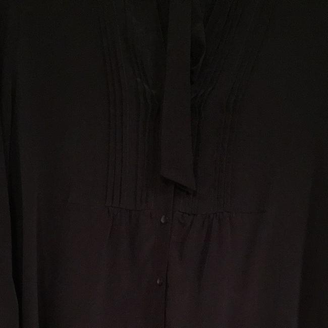 Anthropologie Top Charcoal Gray