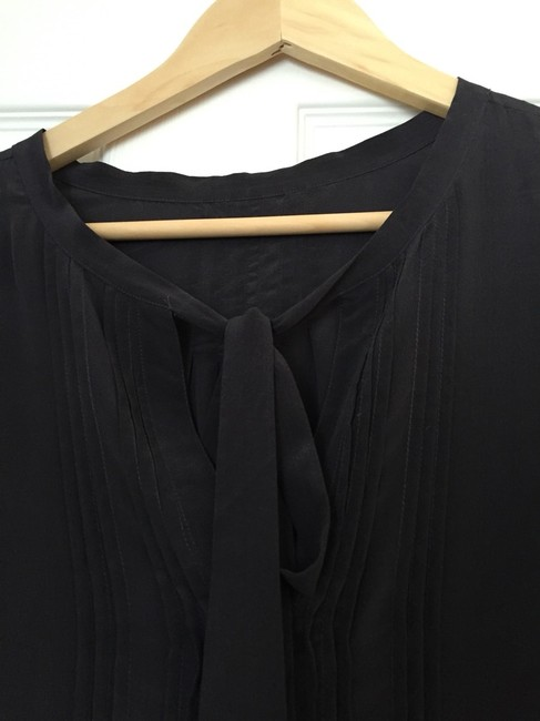 Anthropologie Top Charcoal Gray Image 4