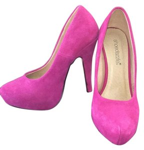 ShoeDazzle Pink/Fuschia Platforms