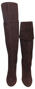 Nine West Over The Knee Knee High Thigh High brown Boots