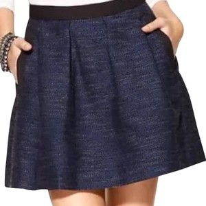 French Connection Mini Skirt Black and navy