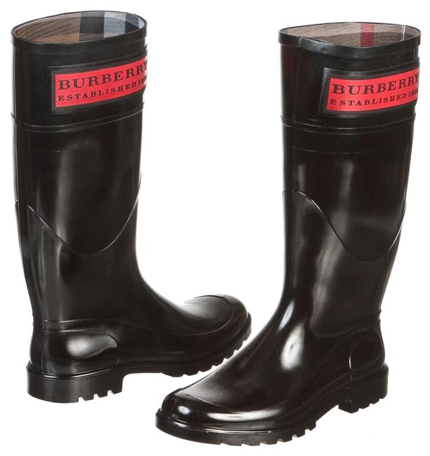 Item - Black Rubber Welly 37) Boots/Booties Size US 6.5 Regular (M, B)