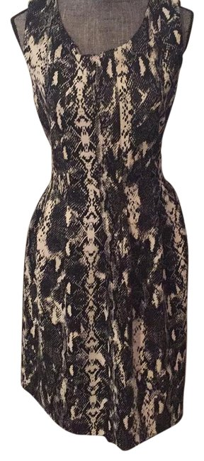 Preload https://img-static.tradesy.com/item/16370929/calvin-klein-black-and-white-a-line-snake-print-with-pockets-above-knee-night-out-dress-size-16-xl-p-0-1-650-650.jpg