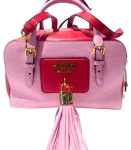 Moschino Satchel in Pink