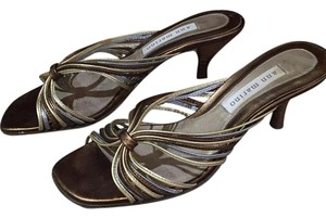 Ann Marino Gold and copper Sandals