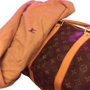 Louis Vuitton BROWN CANVAS Travel Bag