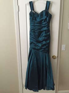 Jade Couture Teal Jade Couture K148052 Dress