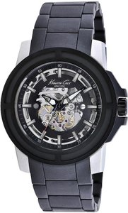 Kenneth Cole Kenneth Cole Male Dress Watch KC9178 Black Automatic