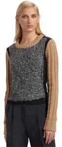 Reed Krakoff Wool Camel Color-blocking Sweater