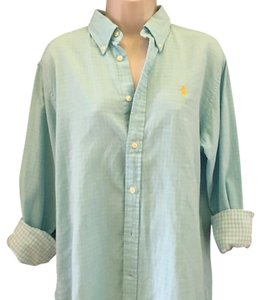 Ralph Lauren Button Down Shirt Baby blue