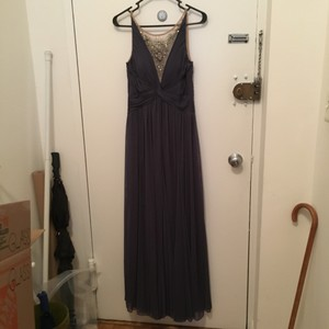 Adrianna Papell Blue-grey Dress