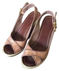 Vince Camuto Wedge Vintage Classic Brown Wedges