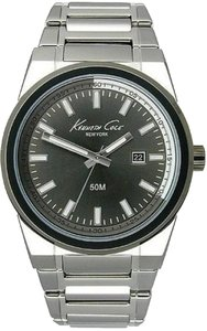 Kenneth Cole Kenneth Cole Male Dress Watch KC9190 Silver Analog