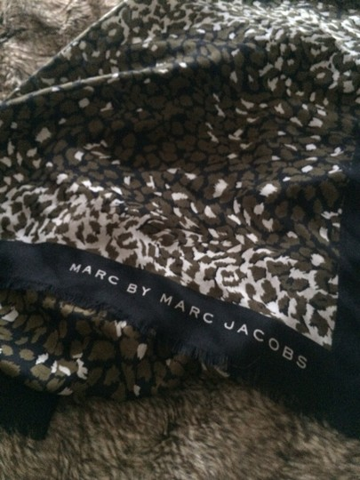 Marc by Marc Jacobs Leopard Print Scarf- Marc By Marc Jacobs