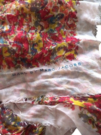 Marc by Marc Jacobs Floral Scarf-Marc By Marc Jacobs