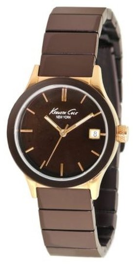 Kenneth Cole Kenneth Cole Female Casual Watch KC4839 Brown Analog